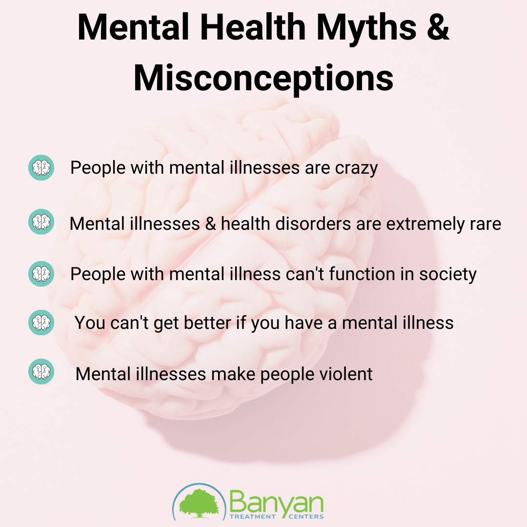 mental health myths and misconceptions